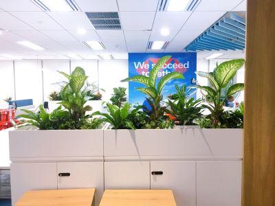 Không gian văn phòng HSBC hội sở